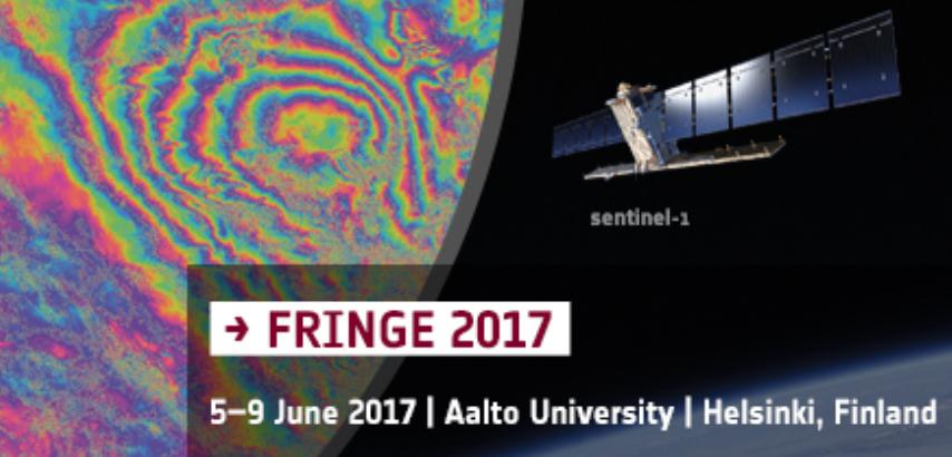 Conférence FRINGE à Helsinki, 5-9 juin 2017